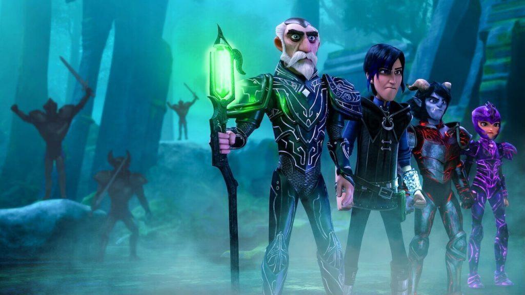 Wizards Tales of Arcadia - Netflix